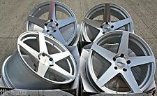 "18"" CALIBRE CCF 5 SPOKE CONCAVE STAGGERED ALLOY WHEELS DIAMOND CUT ALLOY WHEELS"