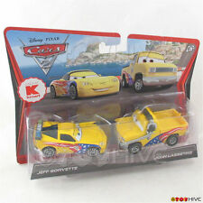 Disney Pixar Cars 2 Jeff Gorvette and John Lassetire K-mart exclusive 2-pack