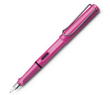 LAMY SAFARI 13  PINK   FINE PT FOUNTAIN PEN  NEW IN BOX L13 F LIMITED EDITION