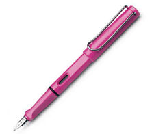 LAMY SAFARI 13  PINK X  FINE PT FOUNTAIN PEN  NEW IN BOX L13EF LIMITED EDITION