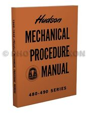 1948 1949 Hudson Shop Manual 48 49 Commodore Super Pacemaker Repair Service