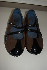 clarks privo 5.5 M brown leather mary janes comfort Excellent  shoes