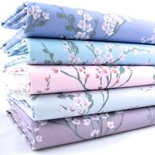 FQ Bundle - Sakura Cherry Blossom - All Colours x 5 - Fat Quarter - Cotton Fabri