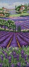 Anchor Landscape Cross Stitch Kit  Provence Lavender Scape