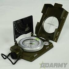 Italian Military Style Metal Compass with Calibration
