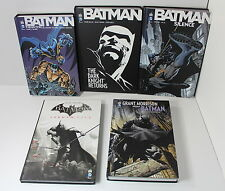 FRENCH Batman Lot of 5 Hardcover Knightfall Grant Morrison Silence Arkham City
