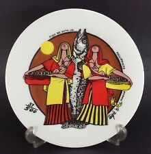 E.R. Tagle Positivism Mother Child Plate '91 Fish B With Us LE #37/100 Filipino