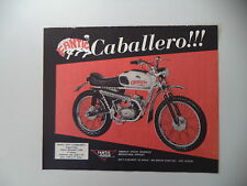advertising Pubblicità 1970 MOTO FANTIC CABALLERO TX-9 SUPER CROSS 50
