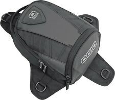 OGIO Supermini Tanker Motorcycle Tank Bag Sunglass Wallet Pocket Offroad - Black