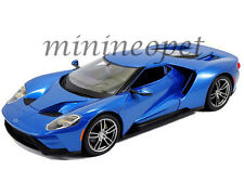MAISTO 31384 2017 17 FORD GT 1/18 DIECAST MODEL CAR ALL BLUE