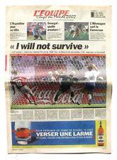 Cahier Spécial Coupe du Monde de L'équipe n°17527 du 12 juin 2002 - Football