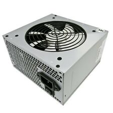 WINPOWER PLUS 550W 25A SATA MOLEX FLOPPY POWER SUPPLY - WHITE 120mm COOLING FAN