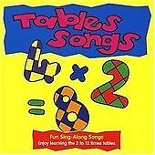 Tables Songs (The playtime range),  | Audio CD Book | 9781857817188 | NEW