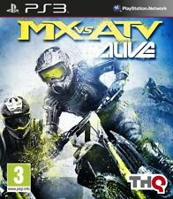 MX vs ATV ALIVE ~~ PLAYSTATION 3 ~~ PS3 ~~ VERY GOOD CONDITION