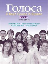 Golosa: A Basic Course in Russian, Book 1 (4th Edition) (Bk. 1), Robin, Joanna M
