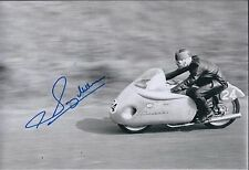 Sammy Miller SIGNED Trails & Road Bike Legend 12x8 Photo AFTAL Autograph COA