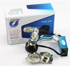 BULL-LEDS   6 LED ROYAL BIKE ENFIELD PROJECTOR HEADLIGHT HIGH LOW H4 3500 LUMENS