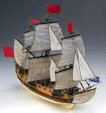 "Beautiful, Detailed Wooden Model Ship Kit by Corel: the ""HMS Peregrine"""
