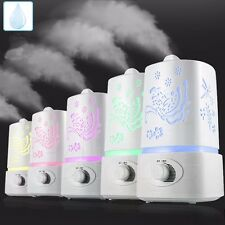 New 1.5L Ultrasonic Home Aroma Humidifier Air Diffuser Purifier Lonizer Atomizer