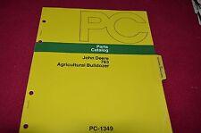 John Deere 763 Agricultural Bulldozer Dealer's Parts Book Manual PANC