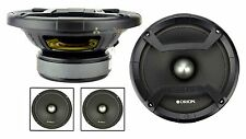 "2 Orion Audio 600 Watt 6.5"" 4 Ohm Mid Range Bass Loud Speakers Pair CM64 Cobalt"