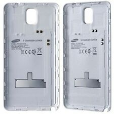 100% NEW SAMSUNG GALAXY NOTE 3 WHITE CHARGING BATTERY COVER CASE RETAIL PACK