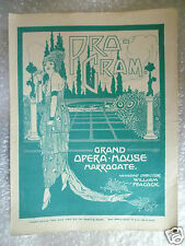 1930 Grand Opera House Programme THE MASK AND THE FACE- Dorothy L Day,K Gaunt