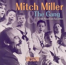 MITCH MILLER and the Gang 50 All-American Favorites (CD 2004) 2 Discs