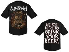ALESTORM - We Are Here To Drink ... - T-Shirt - Größe Size S - Neu