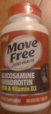 NEW Schiff Move Free Advanced + MSM & Vitamin D3 - 80tab - 2017/10