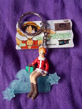 "NEW! ONE PIECE NAMI X'MAS Keyring 2""  5cm VINYL FIGURE MEGA RARE UK DESPATCH"