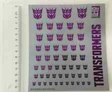 2016 Transformers Decepticons logo stickers