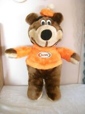 A&W Rootbeer Bear Stuffed Animal Canasia Toy Vintage Canada 7""