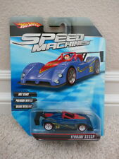 BRAND NEW HOT WHEELS SPEED MACHINES FERRARI 333SP BLUE RARE