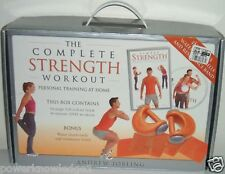 The Complete Strength Workout Kit (DVD + Book + Water Dum Bells + Resitance Band