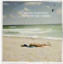 (EO754) We Are Scientists, Return The Favor - 2013 DJ CD
