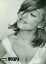MADONNA b/w in 1990 magazine PHOTO / Pin Up / Poster 11x8""