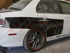 2003-2007 MITSUBISHI EVO 8/9 35MM WIDE REAR FENDERS WITH DOOR CAPS AIT RACING