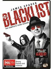 The Blacklist : Season 3 (DVD, 2016, 6-Disc Set) Brand new & sealed