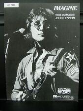 Easy Piano: NEW & In Stock - John Lennon - IMAGINE Sheet Music