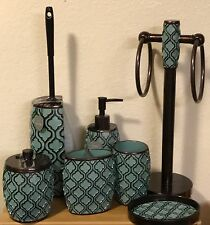 Bath Set Toilet Brush/Towel Racks/Toothbrush Holder/Lotion Dispenser/Soap Dish..