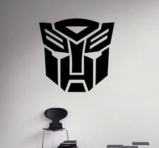 Transformers Wall Vinyl Decal Optimus Prime Vinyl Stickers Home Art Interior 1