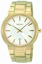 Seiko SKP356 SKP356P1 gold Mens Watch Sapphire crystal NEW RRP $750.00