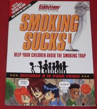 SMOKING SUCKS! ~ ALLEN CARR'S EASYWAY TO STOP SMOKING ~ Like New