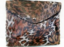 NEW BIMBA Y LOLA Crossbody Shoulder Bag Fur Leather LEOPARD NWT