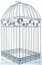 White Birdcage Card Holder Wedding Reception Bridal Shower