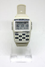 RARE! White CASIO MULTI LINGUAL DATA BANK CALCULATOR DBC-32 Digital Watch