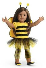 NIB American Girl Bee Myself Outfit with Headband, Shoes, Leggings, Wings NEW!