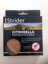 Strider CITRONELLA MOSQUITO INCENSE COILS 6x double coils