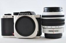 [Exc⁺⁺] PENTAX K-01 16.0 MP White & Black (18-55mm lens kit) Digital SLR Camera